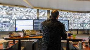 Mur video - salle contrôle routier