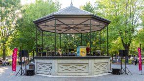 Montreal Molson Park kiosk