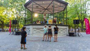 kiosque parc Molson Montreal